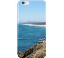 Lighthouse Beach from the Cliff. South Port Macquarie. N.S.W.  iPhone Case/Skin
