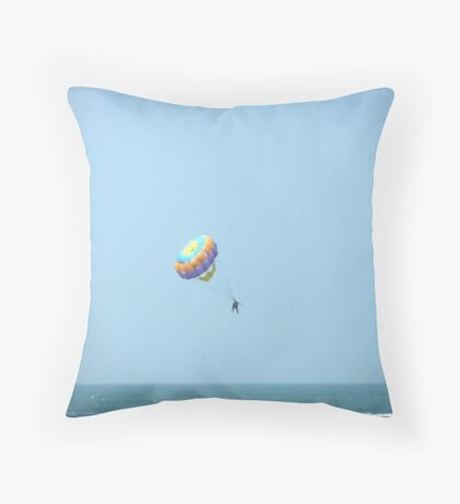 Flying Colours Throw Pillow