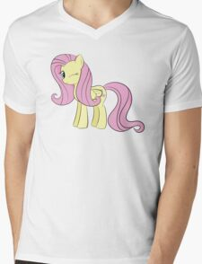 Fluttershy Mens V-Neck T-Shirt