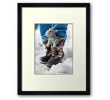 Thanks For Bringing Me Along! Framed Print