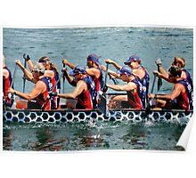 US Dragon Boat Team 2015 Poster