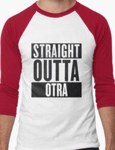 Straight Otta Otra (One Direction) Men's Baseball ¾ T-Shirt