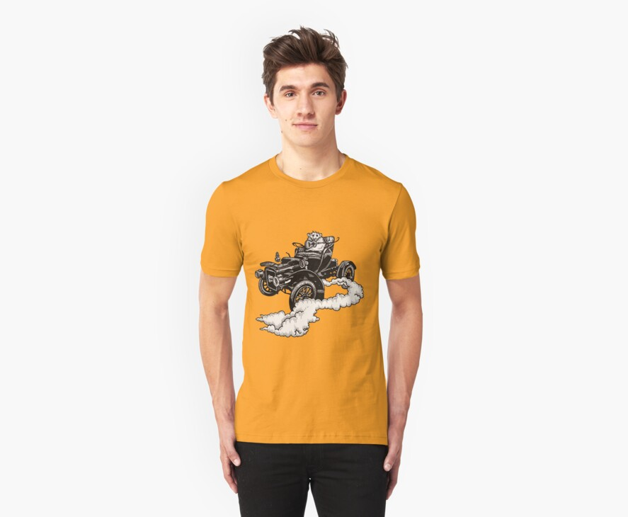 Old Time Rodent T-shirt by Angelique  Moselle