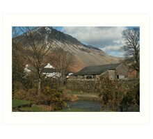 Wasdale Cottage Art Print