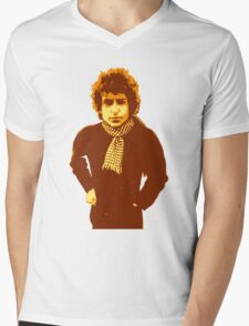 Bob Dylan Blonde on Blonde Mens V-Neck T-Shirt