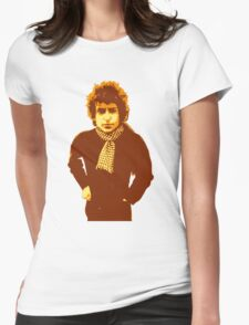 Bob Dylan Blonde on Blonde Womens Fitted T-Shirt