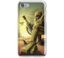 Robot's Dawn iPhone Case/Skin