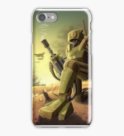 Robot's Dawn iPhone Case/Skin