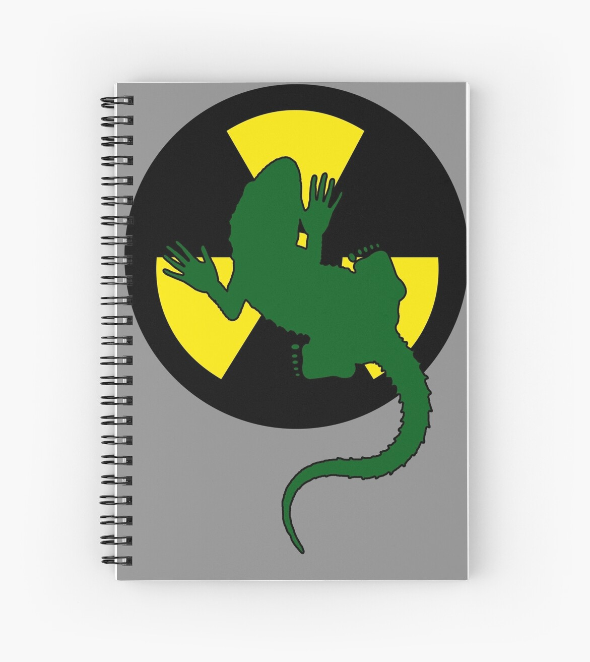 Radioactive Gecko - Funny Design by Denis Marsili