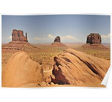 Four Corners Monument Poster