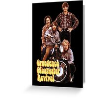 CCR Creedence Clearwater Revival T-Shirt Greeting Card