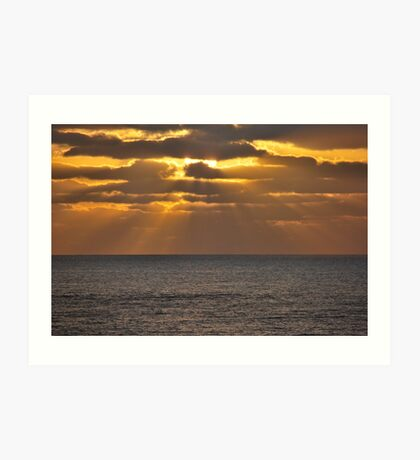 Lanzarote Sunrise Art Print
