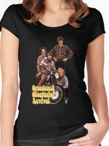 CCR Creedence Clearwater Revival T-Shirt Women's Fitted Scoop T-Shirt