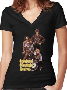 CCR Creedence Clearwater Revival T-Shirt Women's Fitted V-Neck T-Shirt