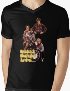 CCR Creedence Clearwater Revival T-Shirt Mens V-Neck T-Shirt