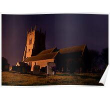 Shawbury church Poster
