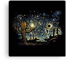groot funny abstract Canvas Print
