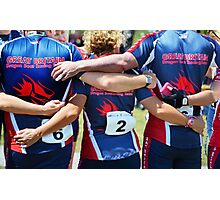 Team Spirit Photographic Print