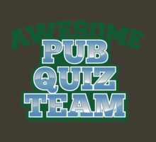 AWESOME Pub Quiz TEAM by jazzydevil