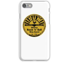 Sun Records T-Shirt iPhone Case/Skin