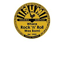 Sun Records T-Shirt Photographic Print