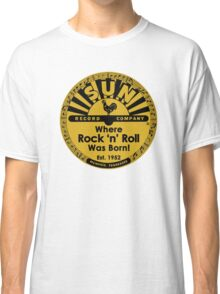 Sun Records T-Shirt Classic T-Shirt