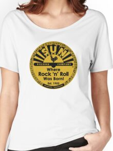 Sun Records T-Shirt Women's Relaxed Fit T-Shirt