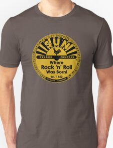Sun Records T-Shirt Unisex T-Shirt