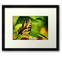 Dining With A Friend Framed Print