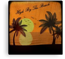 Lana Del Rey - High By The Beach Canvas Print