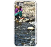 Cell Capture On The Edge iPhone Case/Skin