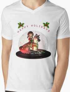 Petunia  Shirts & Stickers Mens V-Neck T-Shirt