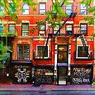 Lower East Side Street Scene by Stuart Row