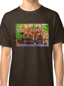 Lower East Side Street Scene Classic T-Shirt