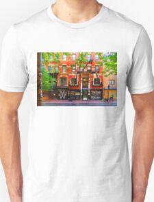Lower East Side Street Scene Unisex T-Shirt