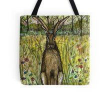 The Evasive Hare Tote Bag