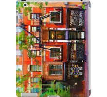 Lower East Side Street Scene iPad Case/Skin