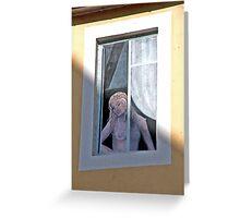 Faux Window Greeting Card