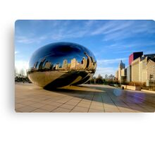 Cloud Gate Canvas Print