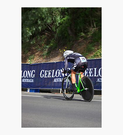 Elite Womens Time Trial Photographic Print