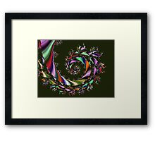 Dragon's Breath Spiral  (UF0036) Framed Print