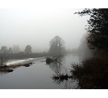River Mist Photographic Print