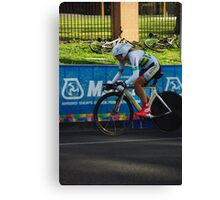 Elite Womens Time Trial Canvas Print