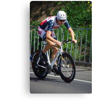 Under 23 Mens Time Trial Canvas Print