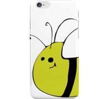 Hand Drawn Bumble Bee iPhone Case/Skin