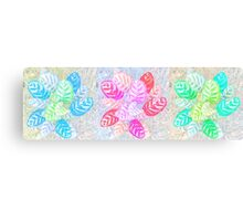 Pastel Frondescence Canvas Print
