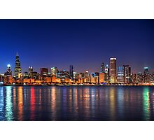 Chicago skyline Photographic Print