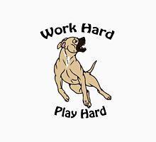 Work Hard, Play Hard - Buckskin Unisex T-Shirt