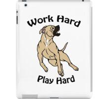 Work Hard, Play Hard - Buckskin iPad Case/Skin