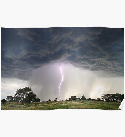 'Dark Clouds' Poster
